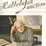 "Cover of composer John Adams memoir ""Hallelujah Junction"" with a portrait of Adams."