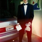 Teenaged boy in tux ready for prom. Photo by BF Newhall