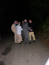After dinner on the way to their cars, the guys in Jon's class couldn't stop talking and laughing. c 2009 B.F. Newhall
