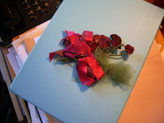A corsage my sophomore year.