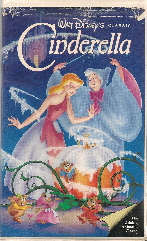 Cinderella Disney Vhs Cover Mopping Floors Barbara