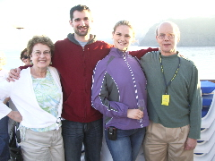 Barbara Falconer Newhall's family. Photo by BF Newhall