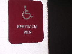 "The boys' lavatory is now a restroom for ""men."""