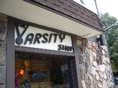 But the old Varsity Shop is still there.