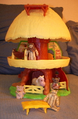 ewok hut toy from the 1980s. Photo by BF Newhall