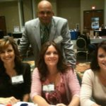 Alina, Vicki and Valerie with husband Joe Darger at the 2011 RNA conference.