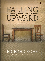"""Falling Upward"" book jacket by Richard Rohr."