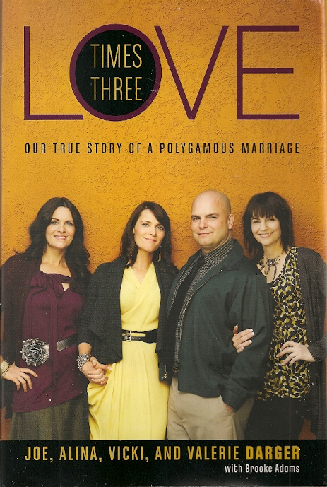 "book jacket ""Love Times Three"" Darger family"
