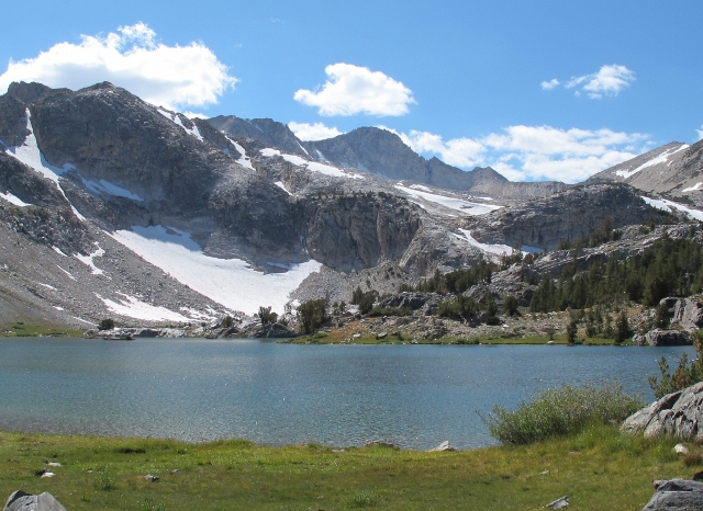 mountains and lake inyo national forest. Photo by Barbara Falconer Newhall
