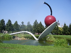 spoonbridge and cherry, Minneapolis. Photo by BF Newhall