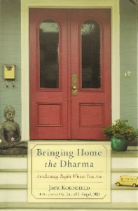 bringing home the dharma by jack kornfield book cover