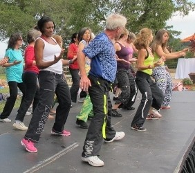 Zumba at The Hills! Authentic, Never-Before-Published Video of Real People Moving Their Bods!