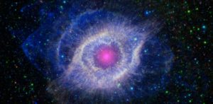 the helix nebula. photo by NASA