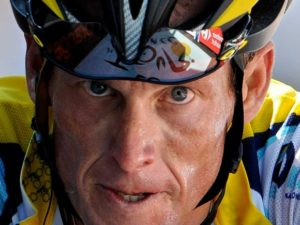 bicyclist lance armstrong at 2009 tour de france. businessinsider photo