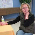 Ann Lamott at a book signing in Oakland, CA, spring 2012. photo by BF Newhall