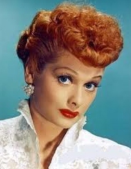 Lucille Ball and her red lipstick