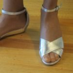 Silver, low-heeled sandals by Marc by Marc Jabobs, $248 at Bloomingdale's San Francisco. Photo by BF Newhall