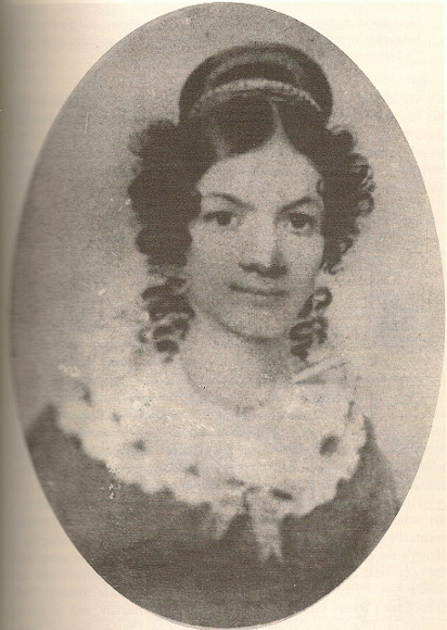 Oval portrait of Jane Johnston Schoolcraft, ca. 1825. Courtesy Bentley Historical Library, University of Michigan