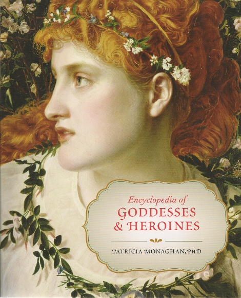 The cover of Patricia Monaghan's book, Encyclopedia of Goddesses & Heroines shows Perdita by painter Frederick Sandys.