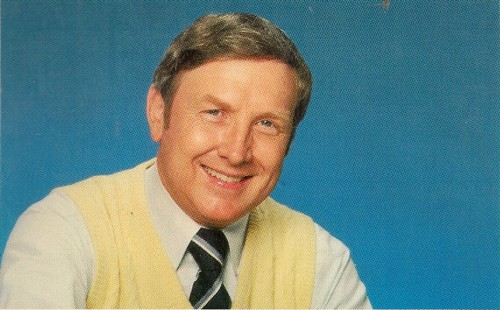 "Head and shoulders photo of James Dobson that appeared on the cov of the 1985 paperback edition of his book ""The Strong-Willed Child."""