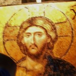 Image of Jesus Christ from the Hagia Sophia. Photo by Barbara Newhall