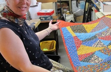 A Crazy-Making Crazy Quilt — Finished at Last
