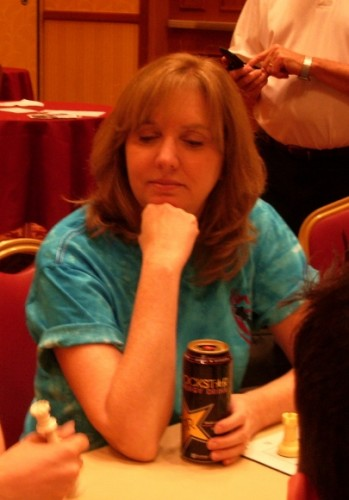 Cindy Newhall Weyant at chess National Open, Las Vegas, June 2010. With Newhall family.