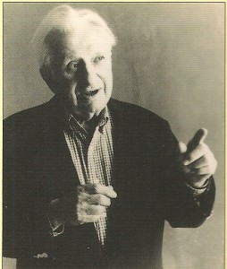 Studs Terkel, photo by Nina Subin