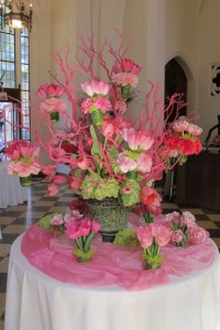 pink tulip bouquet by Valerie Lee and Robin LeesPhoto by Barbara Newhall