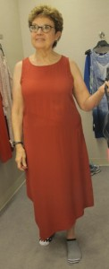 looking for a dress for niece's wedding. nordstrom. Eileen Fisher $378