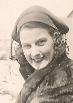 My mother's mother, born in 1896 and glamorous, went in for furs, lipstick and sassy headgear. Everyone in town called her Toto. Photo by DG Falconer