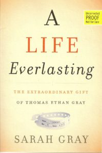 The cover of A Live Everlasting by Sarah Gray at BookExpo America 2016