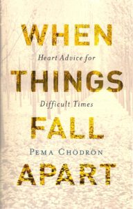 cover of pema chodron book When Things Fall Apart at BookExpo America 2016