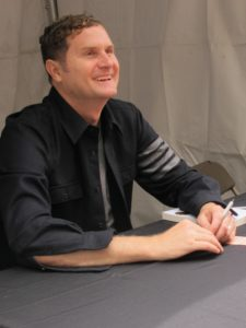 The Bay Area Book Festival was held June 4 & 5, 2016 in the streets and indoor venues of downtown Berkeley, California. Rob Bell author. Photo by Barbara Newhall