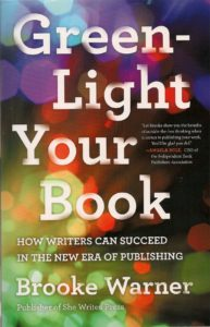 "Cover of 2016 book by Brooke Warner, ""Green Light Your Book."""