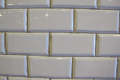 White subway tiles in Budapest's Oktogon subway station. Photo by Barbara Newhall