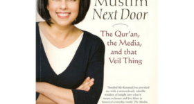 "Sumbul Ali-Karamali, author of ""The Muslim Next Door"" Cover of her book."