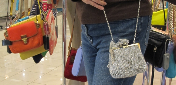 A Small Silver Evening Bag At Nordstrom With Ruching And Chain S For 268